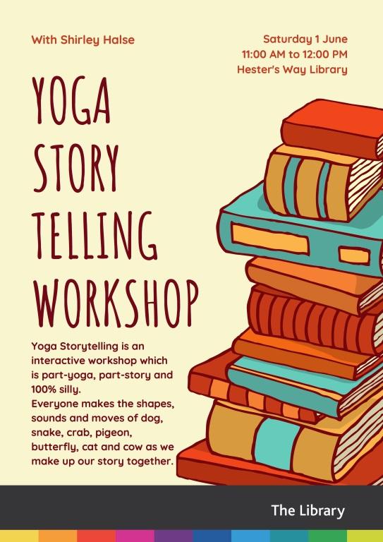 YOGA Storytelling Poster